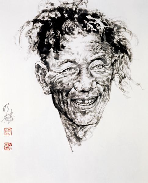 谭乃麟国画人物 - 小小 BLOG - 小小 BLOG