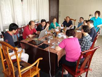 节目组在党校召开节目筹备会议498