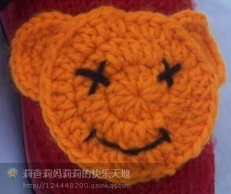 """天使的眼睛""""的编织过程 全部上完咯。哈 - 只愿无忧 - 爱上织,做个织娘。"""
