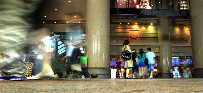 [原]香港·铜锣湾·时代广场 - Tarzan - 走过大地