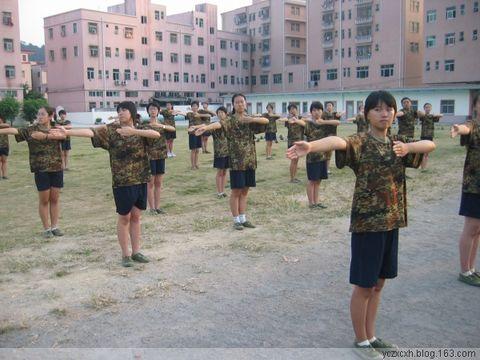 """""""神8"""",军训的记忆(配图)  - yc红袖 - 桃李守望者"""