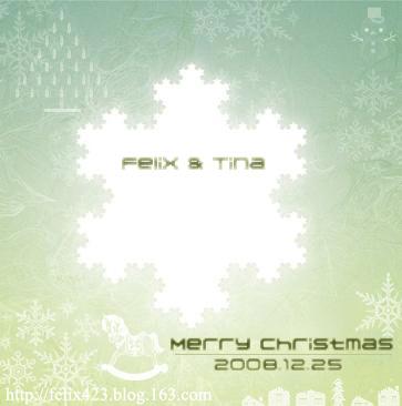Merry Christmas - Felix WING - 突然, Felix好想你...