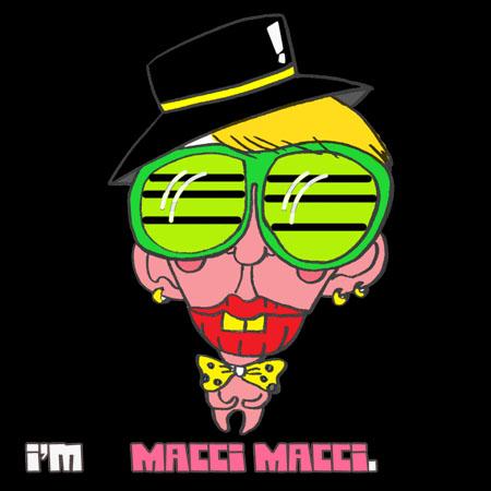 自画像 - Macci macci -   macci macci! 我是马奇