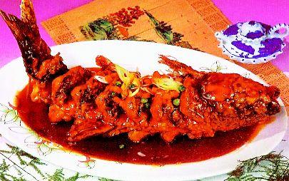 糖醋鱼 - 中国美食美味.com - 中国美食美味.com