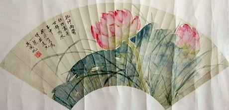 引用 【分享】精美扇面画欣赏 - 欣向荣 - .