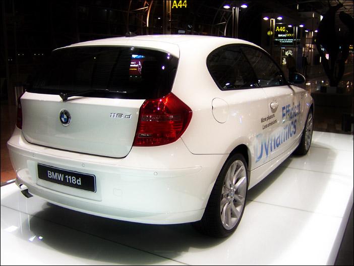 宝马BMW118d实拍 - 天外飞熊 - 天外飞熊