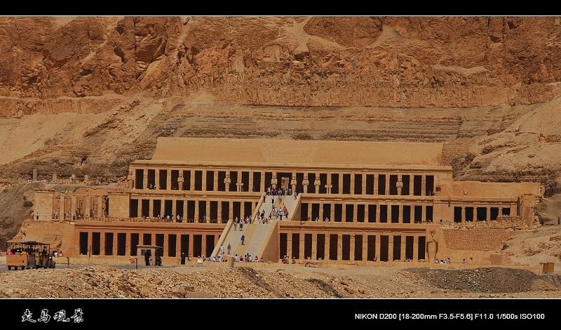 埃及唯一女法老的神庙和哭泣的门侬 - 西樱 - 走马观景