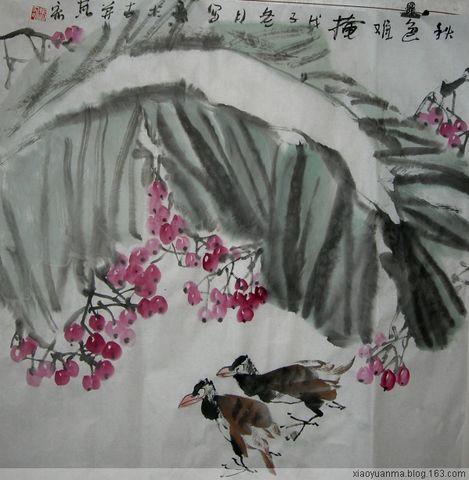 2009新春花鸟画2(原创) - 云中老马 - 云中老马