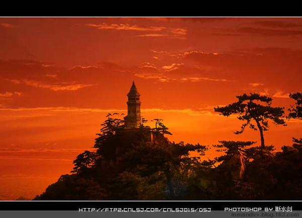 引用 Photoshop打造夕阳余晖 - 了凡 - 了凡的博客