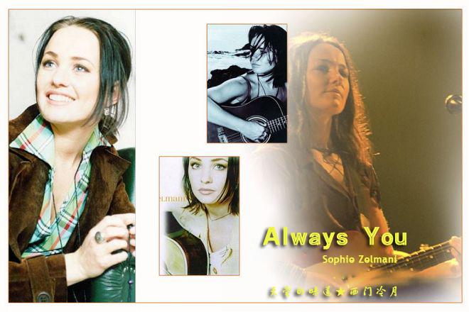 【异域经典】清脆的吉他合弦衬托喃喃细语《Always You》 - 西门冷月 -                  .