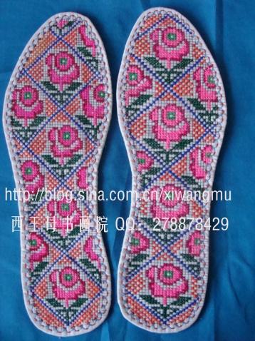 格十字绣鞋垫图样,塑料十字绣鞋垫图样,鞋垫十字绣 ...