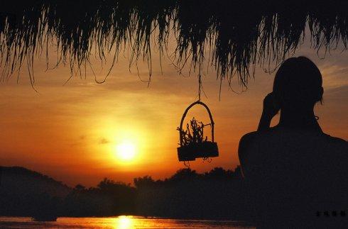 摇荡在湄公河边的吊床上--老挝 - Y哥。尘缘 - 心的漂泊-Y哥37国行