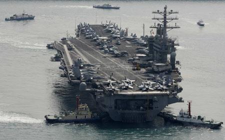 美国三大航母排队访港  - 方东升 - 方东升博客