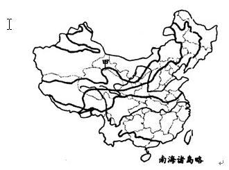 地图 简笔画 手绘 线稿 330_245