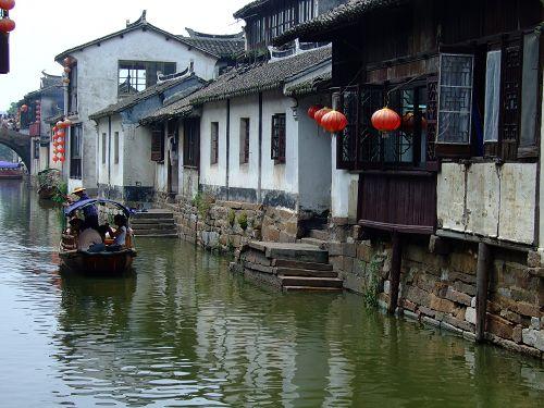 中国第一水乡周庄行于零七年七月 - 雨后彩虹 - 雨后彩虹的博客