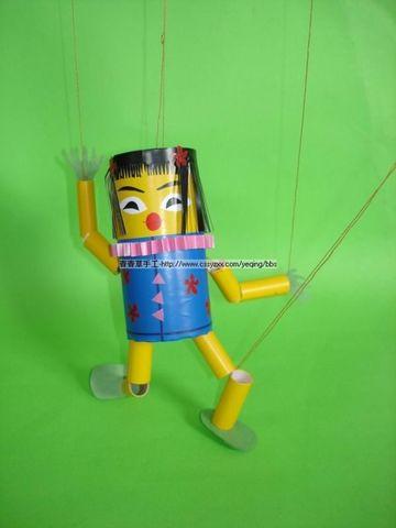 【转载】提线木偶 - 童心童画少儿美术 - 童心童画申老师画室