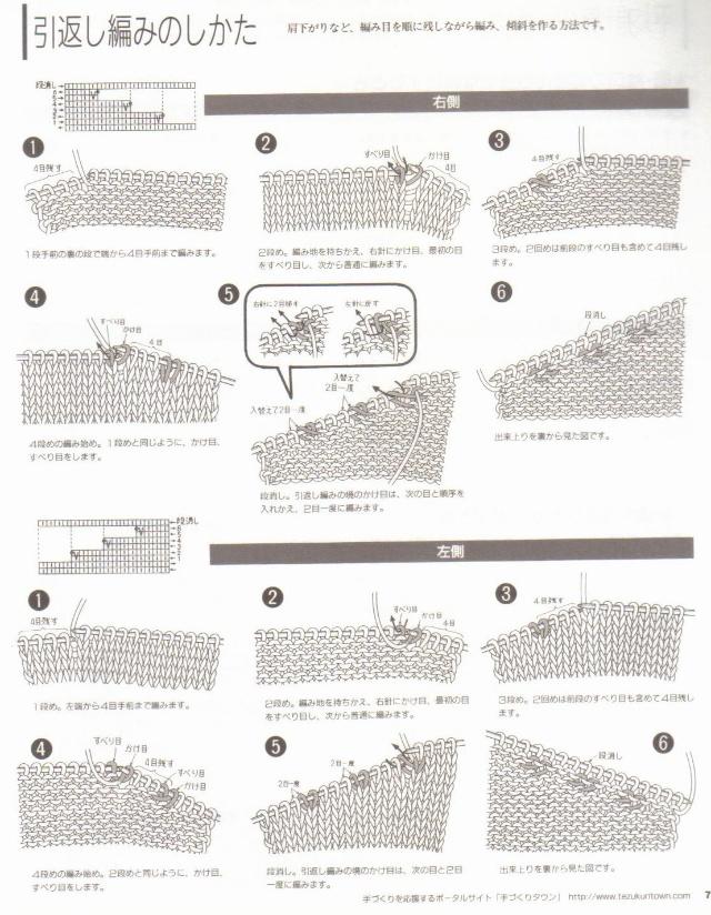 Scroll Lace Scarf 上编织说明-MONIQUE*夏微-搜狐博客 - anne - limil09的博客