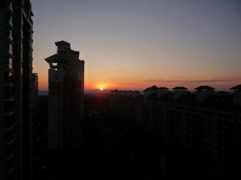 北京的早晨 - 肖梅 - 我的博客