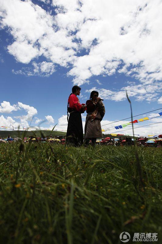 刚峰走青藏之二:藏民 - 刚峰先生 - 天涯横呤