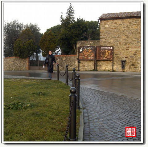 (原创)酒香肆溢--葡萄酒乡小城montalcino - 风和日丽 - 鹿西情结--和佬的博客