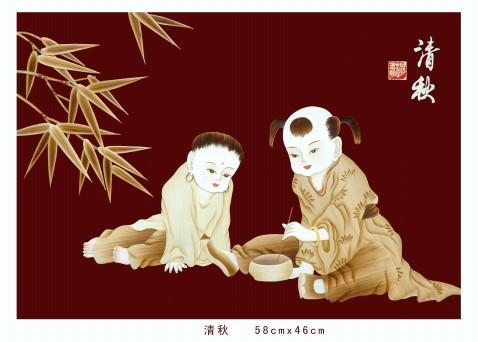 麦草画系列之一 - 蒲公英 - pugongying999 的博客