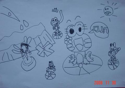 小青蛙找妈妈简笔图片_【小青蛙找妈妈的故事】_小青蛙找妈妈故事