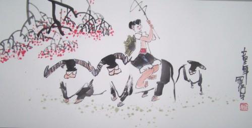 童年的记忆 - 书画家罗伟 - 书画家罗伟的博客