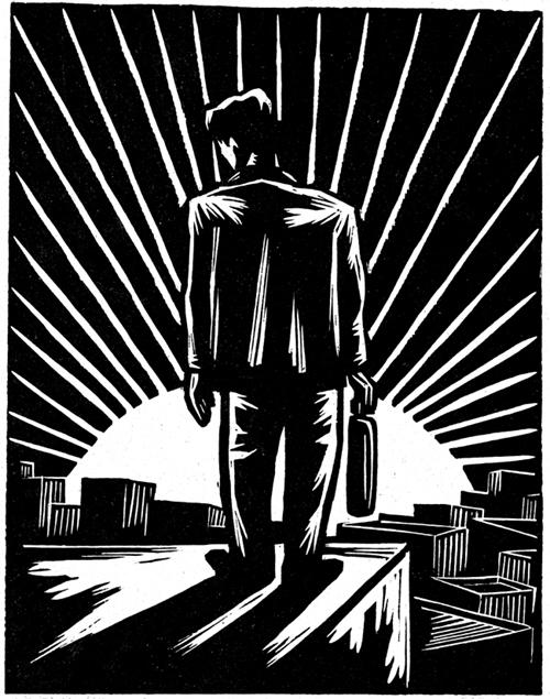 21世纪艺术观察:木刻的黑白使命 - 朱大可 - 朱大可的博客