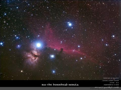今年1月份的马头星云 - starrynight12 - 星空影像坊