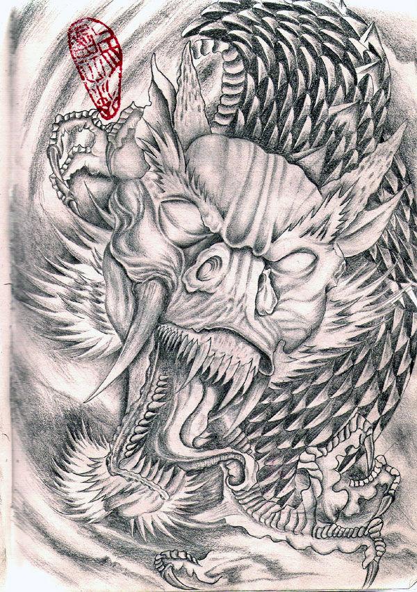 信息中心 任性的满背纹身手稿   求满背翅膀纹身手稿,~小腿外侧那里