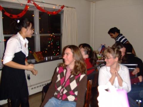 家里的圣诞派对 - 程子 - 程子在这里