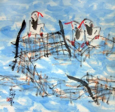 画家道白(11) - 苏文 - 中国当代美术家——路中汉