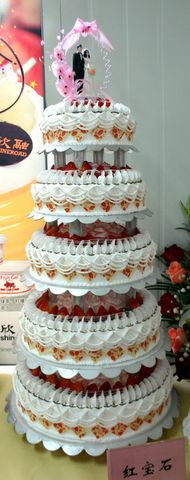 【原创】上海创意蛋糕比赛图片