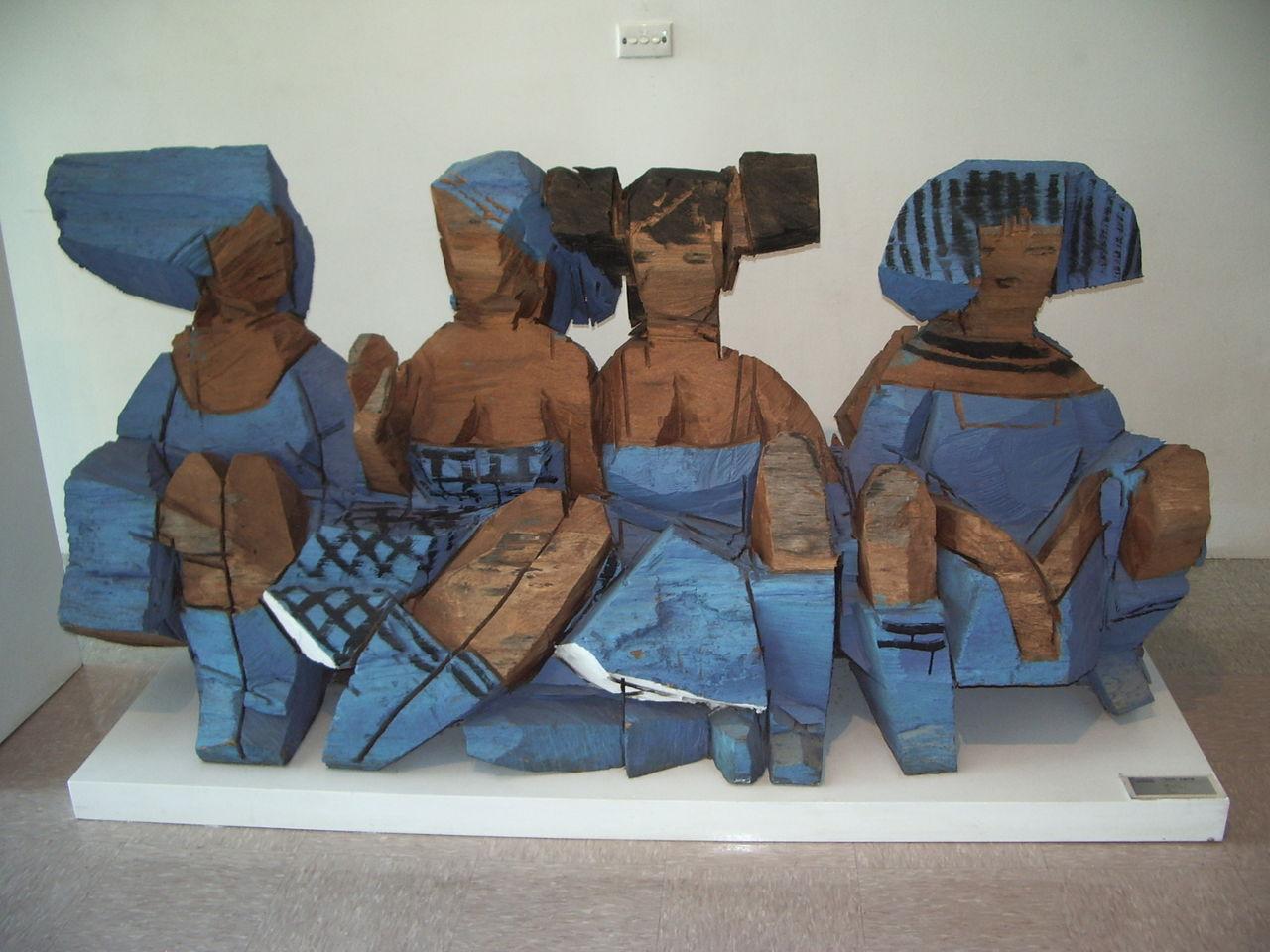 室内彩雕 - 水木白艺术坊 - 贵阳 画室 高考美术培训