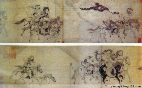 中国历代鞍马画作赏析  - 宫春虎 - 群马驿站宫春虎博客