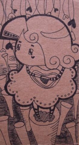 涂鸦书签【图】 - HONG -