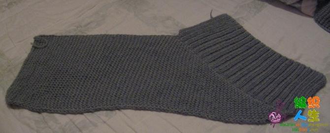 转载:两片长方形拼的披肩 - 停留 - 停留编织博客