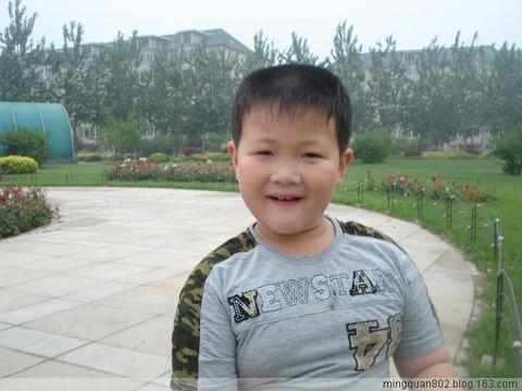 壮壮上小学了 - mingquan - 风