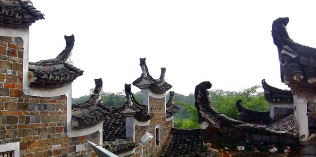 徽派建筑之马头墙的寄托 - 牧野流星 - 古建筑