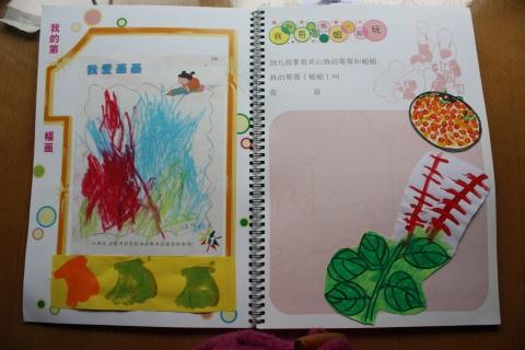 幼儿园上半年的成长记录手册
