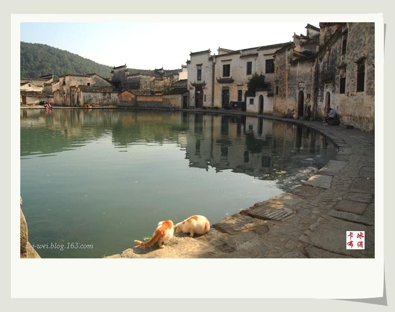 水墨宏村(原创摄影) - 冰滴卡布 - l-j-wei的个人主页