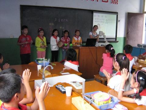 市小学科学青年教师会课在我校举行 - 先行者 - 先行者的足迹