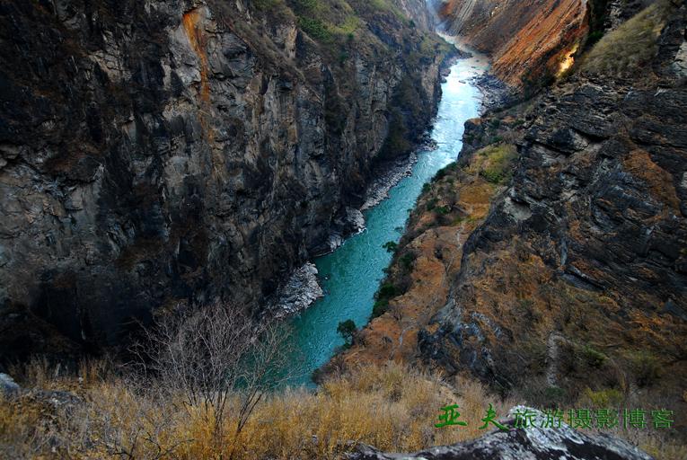 (原摄)丽江 虎跳峡之三 - 高山长风 - 亚夫旅游摄影博客