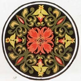 图案的组织构成 单独纹样 适合纹样