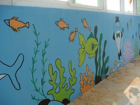小暄彩绘——幼儿园——海底世界