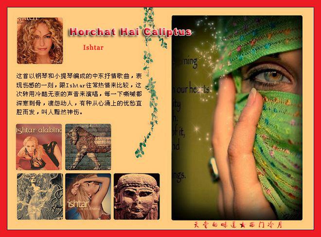【异域经典】深寒刺骨的嘶喊Horchat Hai Caliptus - 西门冷月 -                  .