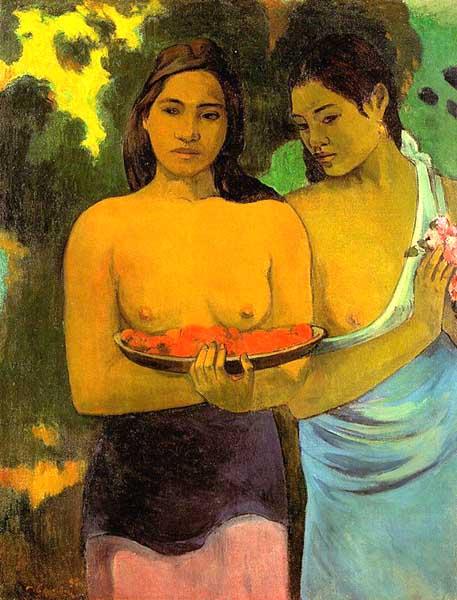 高更油画欣赏