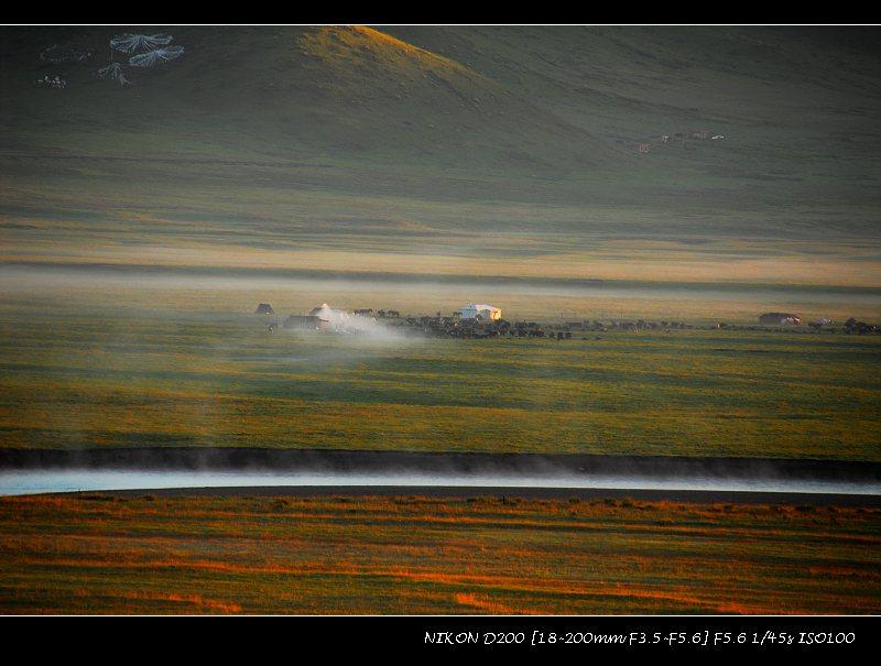 绝色红原 - 西樱 - 走马观景
