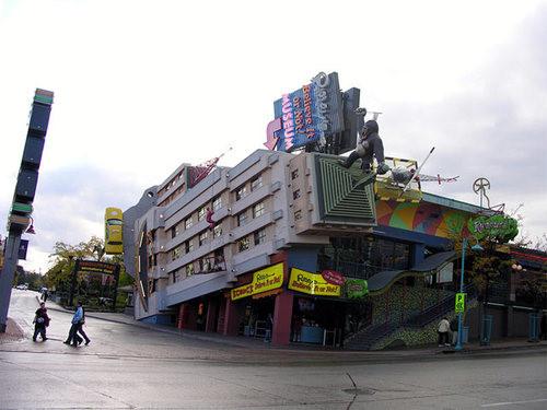 全球奇异建筑之最