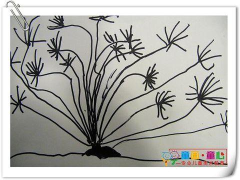 童画童心08秋季小小B美术活动11——发现树之美 - 童画-童心儿童美术 - 童画-童心儿童美术